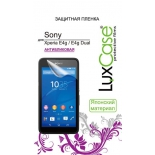 защитная пленка для смартфона LuxCase  для Sony Xperia E4/ E4 Dual, (Антибликовая), 137х74 мм