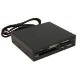 устройство для чтения карт памяти Ginzzu GR-116B (CF/CFII, xD, MS/MS Pro Duo, SD/SDHC, MMC, M2, microSD)