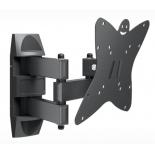 кронштейн Holder LCDS-5038 (20-37'', до 30 кг, наклон, поворот), графит