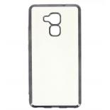 чехол для смартфона Hallsen для Huawei Honor 5C, прозрачный с чёрными краями