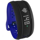 фитнес-браслет Mio Fuse, Large (59P-LRG-BLU), чёрно-синий