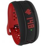 фитнес-браслет Mio Fuse, Large (59P-LRG-INT), чёрно-красный