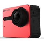 видеокамера Ezviz S5 16 Mpix  , красная