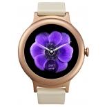 Умные часы LG Watch Style W270, золотисто-розовые
