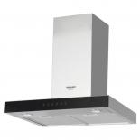 вытяжка кухонная Hotpoint-Ariston HHBS 6.7F LT X, серебристая