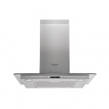 вытяжка кухонная Hotpoint-Ariston HHF 6.7F LL X, серебристая