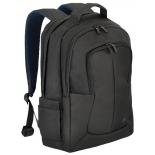 сумка для ноутбука рюкзак Riva 8460, для ноутбука, 17'', черный