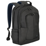 сумка для ноутбука Riva 8460, рюкзак для ноутбука, 17'', черный