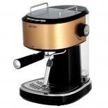 кофеварка Vitek VT-1524 GD, золотисто-черная