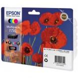 картридж Epson 17XL, цветной (4 цвета)