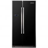 холодильник Shivaki SBS-550DNFBGI, черный