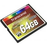 карта памяти Transcend TS64GCF1000 (64 Gb, 1000 x)