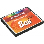 карта памяти Transcend TS8GCF133 (8 Gb, 133x)