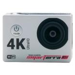 видеокамера Smarterra W3+ 4K, черно-серебристая