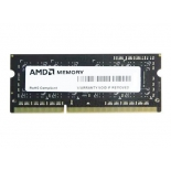 модуль памяти AMD Radeon SO-DIMM DDR3 (12800) 4Gb 1.35V (R534G1601S1SL-UO) чёрный