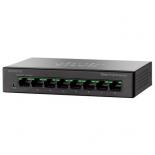 коммутатор (switch) Cisco SG110D-08HP-EU (неуправляемый)