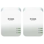 PowerLine-адаптер D-Link DHP-601AV/B1A (Комплект из 2-х адаптеров Powerline)