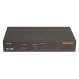 коммутатор (switch) D-Link DES-1008P (неуправляемый)