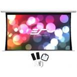 экран Elite Screens Saker Tab-Tension SKT100XHW-E12 (100'', 16:9, матовый, электропривод), белый
