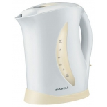 Чайник электрический Maxwell MW-1006, белый/бежевый, купить за 1 060руб.