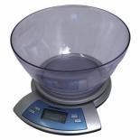 кухонные весы First 6406, серебристые