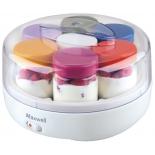 Йогуртница Maxwell MW-1434 W (пластик/стекло)