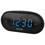 Радиоприемник Радиочасы Vitek VT-6602 BK