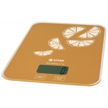 кухонные весы Vitek VT-2416 OG, оранжевые