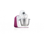 Кухонный комбайн Bosch MUM 54P00, белый/розовый