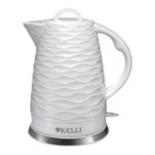 чайник электрический Kelli KL-1459, белый