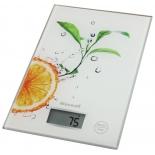 кухонные весы Maxwell MW-1458, белые/апельсин