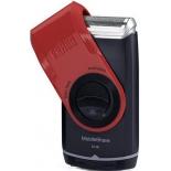 электробритва Braun MobileShave M-60, черно-красная
