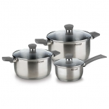набор посуды для готовки Rondell Strike RDS-820 ST (6 предметов)