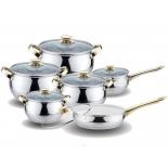 набор посуды для готовки Kelli KL-4205 (12 предметов)
