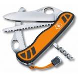 нож перочинный Victorinox Hunter XT One Hand 0.8341.MC9, оранжевый/ черный