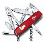 нож перочинный Victorinox Angler (1,3653,72) красный
