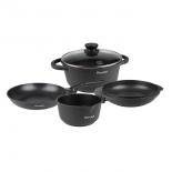 набор посуды для готовки Rondell The one RDA-563, (6 предметов)