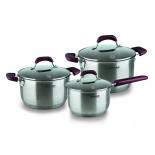 набор посуды для готовки Rondell Bojole RDS-823 ST (6 предметов)