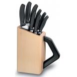 ножи (набор) Victorinox Swiss Classic черные