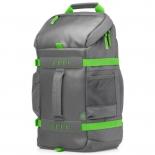 сумка для ноутбука HP L8J89AA, серо-зеленая