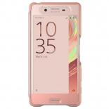 чехол для смартфона Sony Touch Cover SCR50 для Xperia X, розовое золото