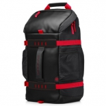 сумка для ноутбука HP X0R83AA, черно-красная
