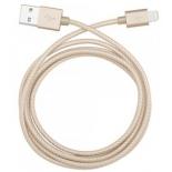 кабель / переходник Lightning-USB для Apple Belkin Mixit Metallic золото  1.2м