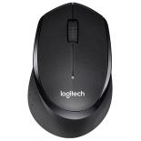 мышка Logitech Wireless Mouse B330 Silent Plus, чёрная