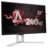 монитор AOC AGON AG251FZ, черно-красный