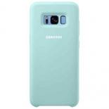 чехол для смартфона Samsung для Galaxy S8 Silicone Cover голубой (EF-PG950TLEGRU)