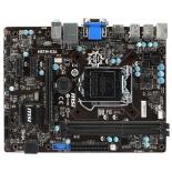 материнская плата MSI H81M-E34 (Socket 1150, B85, DDR3, mATX, SATA3, GbLAN, RAID, USB3.0)