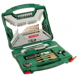 Набор инструментов Bosch X-Line 100 (2.607.019.330), 100 предметов