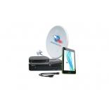 комплект спутникового телевидения Триколор GS E501 + GS C591 (на 2 ТВ) + планшет