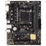 материнская плата ASUS A68HM-K (Socket FM2+, AMD A68H, DDR3, mATX, GbLAN, SATA3, RAID, VGA + DVI-D)